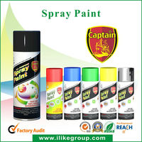 Acrylic spray paint for leather