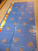 wholesale wedding plastic table cover patterned