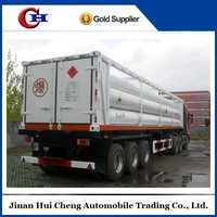 10 cylinder Compressed Natural Gas truck semi trailer