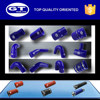 high performance blue passenger car vmq pipe for racing car/ large range of sizes/ 2 years warranty