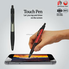 Good quality ballpoint pen touchpen plastic