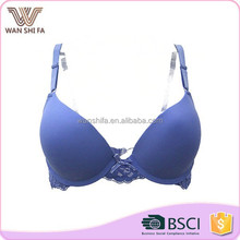 Latest promotion custom size lace back nylon smooth cup open hot sexy girl bra