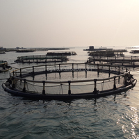 Aquaculture floating fish cage tank fishing equipments for cheap prices sale