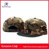 Hip-hop Custom Camo Snapback Hat Wholesale/OEM Embroidery Logo Snapback Cap