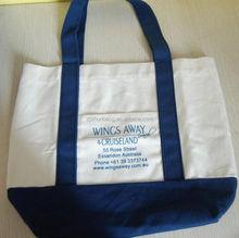 cheap custom plain heavy duty cotton canvas tote bag/ cotton sports bags
