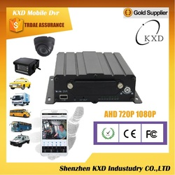 Well 4ch full AHD 720P security hdd motorcycle dvr.VR850