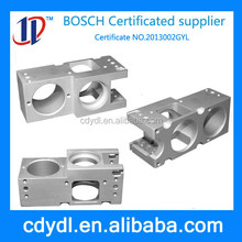 cnc machining aluminum spare parts from BOSCH certificated machining supplier
