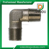 Forged Brass Pex Fitting Elbow Male Thread Nickel Plated