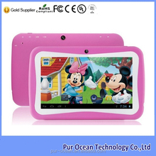 Most popular 7 inch dual core kids tablet and RK3126 android tablet pc
