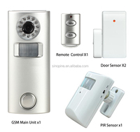 New GSM Alarm Hidden HD Camera GMS&SMS Control Alarm Video Infrared Sensor