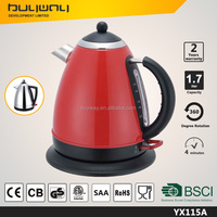 China whole sale 1.5l stainless steel electric kettle