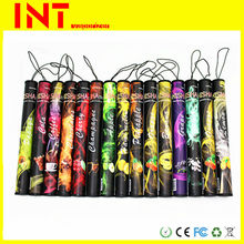 shisha pen 500 puff disposable ecig 30 flavours OEM wrap paper accept paypal