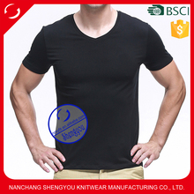 Custom wholesale sublimation mens t shirts 94 cotton 6 spandex