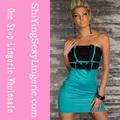 venta al por mayor de color azul oscuro coreano nuevos vestidos de moda vestido formal 2013