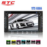 6.2'' touch screen 2 din car radio with navigation china steering control STC-6008DVD