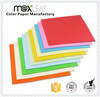 80gsm 297*210mm colour offset printing paper of sigle color pack