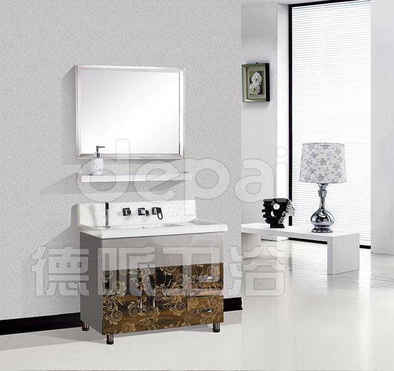 Adesivo De Coração ~ 2013 vaidade do banheiro moderno design inox e banheiro espelho armário com porta e gavetas