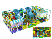 Customized/new products/yellow kids indoor toys playground used