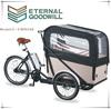 2015 hot sale 3wheels 7speeds bikes 36V 9A Li-ion electric cargo bike/bakfiets/cargobike UB9036E
