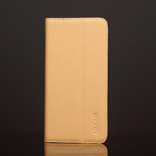 Best Selling Leather Flip Cover for Iphone 6/6S / OEM leather mobile phone cases
