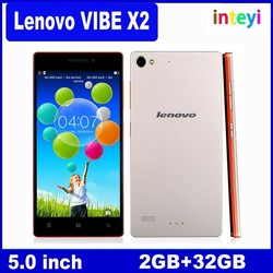 Original Lenovo Vibe X2 Android 5.0 4G FDD LTE Octa Core 5.0'' FHD IPS 1920X1080 Screen 2G RAM 32G ROM 13.0MP Mobile cell Phone