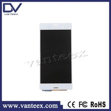2015 China Manufacturer flexible lcd display for sony xperia z3 lcd touch screen