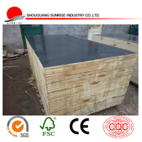 1220x2440x18 laminated marine plywood/timber for concrete formwork