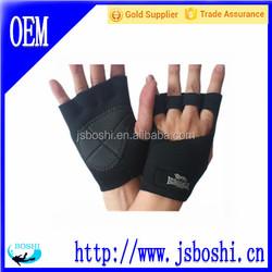 OEM Service Durable neoprene fabric fishing gloves