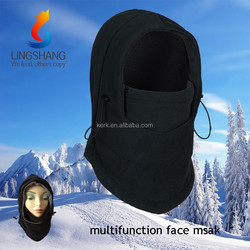 wholesale winter black 100% Fleece balacava ski mask hat,full face mask,ski mask