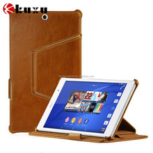 Genuine Leather Mobile Phone Case for Sony Xperia Z3 Mini
