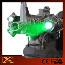 Tactical low temperature use 50mw green laser hunting light
