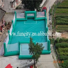 wonderful inflatable football soccer pitch for hot sale