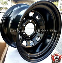 steel chrome trailer wheel rims 16x14 with top quality
