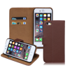 BRG $0.99 Competitive Price For iPhone 6 PU Plain Pattern Leather Wallet Case with Card Holder & Stand Function