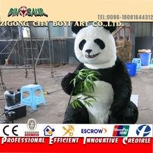 Interesting Park Life Size Animatronic Animal Panda Model
