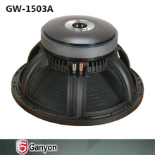 Professional speakers factory supply in guangzhou 15 Inch subwoofers