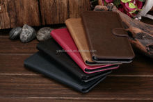 High Quality Super Slim Genuine Mobile Phone Leather Wallet Case for IPhone 6