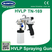 HVLP paint sprayer with one year warranty