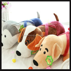 cute dressed plush beagle dog toy