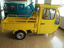 60v 120ah three wheel electric cargo tricycle for adult