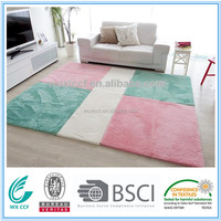 modern home decor long hair split colorful carpet prices