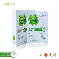 natural Herbal Ingredients for Collagen Bio Cellulose facial Mask for Moisturing and Whitening face