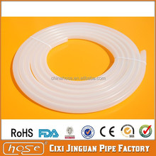 High Temperature 6mm Clear Silicone Shower Hose Tube, FDA Food Grade Silicone Hose Hookah, Medical Clear Soft Silicone Hose