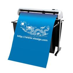 Vicsign 48'' Contour Vinyl Cutting Plotter /Sticker Cutter Plotter with Red dot Low price of USB vinyl cutting plotter machine