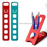 DIY smart led light bookmark,led book light,smart phone holder.DIY bookmark lamp.card holder.with led light.pen holder