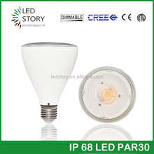 Energy Saving High Lumen led work light led Par30 cob led 12w
