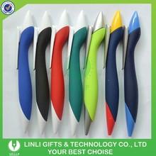 Giveaway Gift Logo Boat Shape Plastic Rubber Pen