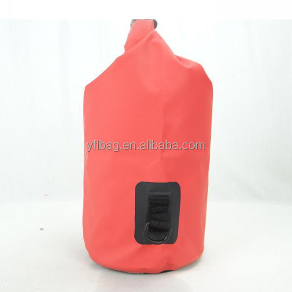 Pink ocean dry bag for water sports