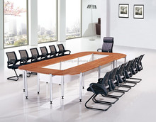 Office conference table simple oval meeting table made in China