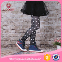 fashion dots transfer printed sexy leggings nylon japanese stockings for teen girls